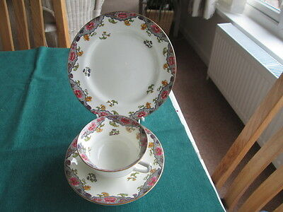 Vintage Aynsley  Trio Cabinet Cup & Saucer And Plate