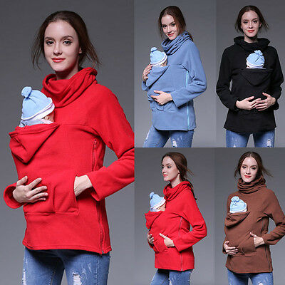 Kangaroo jacket/coat for mam and BABY, baby carrier hoodie, size S-2XL,4 colors