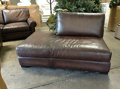 Pleasant Pottery Barn Turner Leather Grand Sofa And Chair Set Dailytribune Chair Design For Home Dailytribuneorg