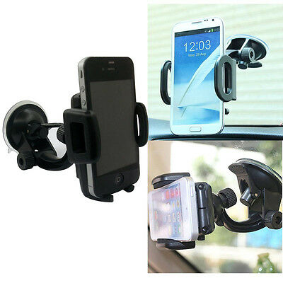 Universal Car 360° Windshield Mount Holder for Mobile Phone iPhone Samsung Lot