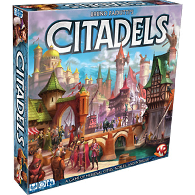 New Citadels 2016 Deluxe Edition - Card Game