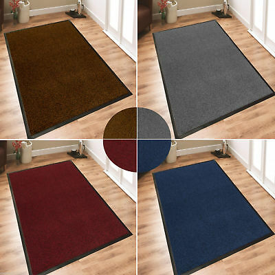 Heavy Duty Large Barrier Mats Non Slip Carpets Rugs Home Garden Patio Rubber New