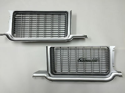 1970 Olds Cutlass S Front Grille Grilles with Emblems - NEW