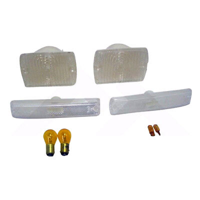 Parking and Side Marker Light Kit Clear for Jeep Wrangler YJ 1987-1993 RT28010