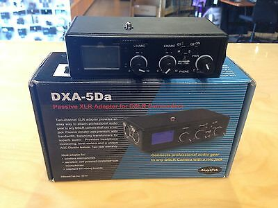 Beachtek DXA-5Da XLR Audio Adapter for Film and Video - OPEN BOX SALE!