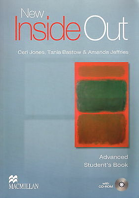 Macmillan NEW INSIDE OUT Advanced Level Student's Book with CD-ROM @NEW@
