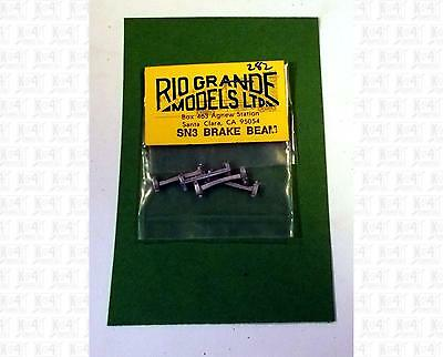 Rio Grande Models Sn3 Parts: Truck Brake Beams and Shoes