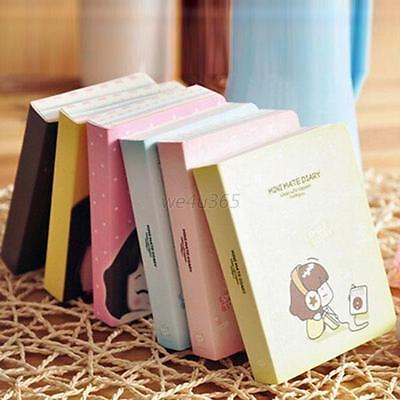 Lovely Pocket Diary Study Planner Notepad Cute Sketchbook Journal Notebook