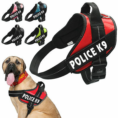 Didog Dog Service Vest Harness with 2 Reflective Patches for Small to Large Dogs