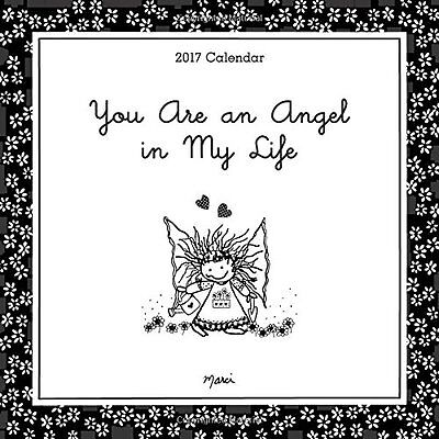 You Are an Angel in My Life 2017 Square Wall Calendar NEW by Blue Mountain Arts