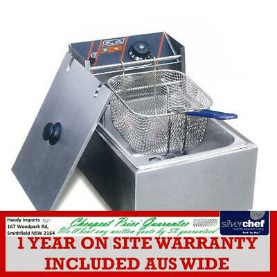 Fed Commercial Single Benchtop Electric Fryer Ef-81