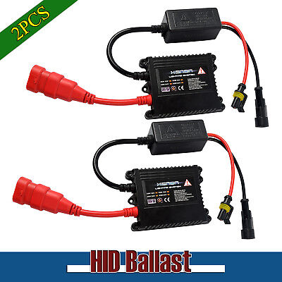 2X 35W HID Replacement Ballast Universal for H1 H11 H7 Xenon Bulb Conversion Kit
