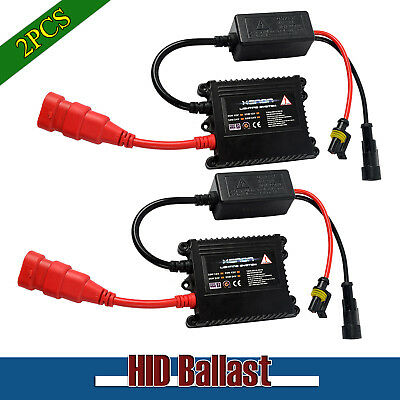 2XUniversal 35W HID Replacement Ballast  for Xenon Bulb Conversion Kit H1 H11 H7