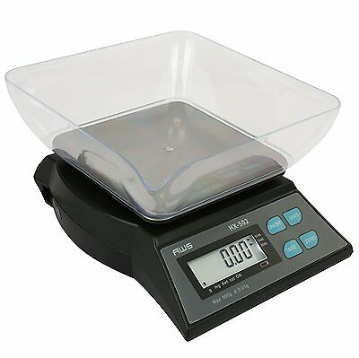 American Weigh Scales, HX-Series 500g x 0.01g Compact Bench Scale HX-502 New