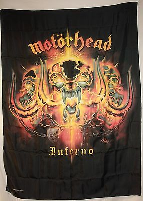 MOTORHEAD The World is Your Cloth Poster Flag Fabric Textile Tapestry Banner-New