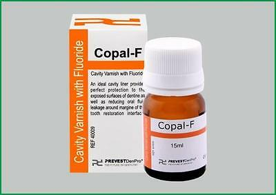 Dental Copal F Cavity Varnish With Fluoride Varnish 15ml Dental Varnish