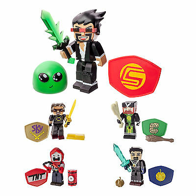 Tube Heroes Miniature Action Figure With Accessories Set Playset Kids Toy Age 8+