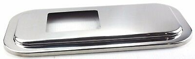 shift shifter plate floor cover stainless steel 4-3/4 X 5-3/4 for Peterbilt
