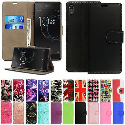For Sony Xperia Experia Phones Leather Wallet Book Flip Side Opens Case Cover