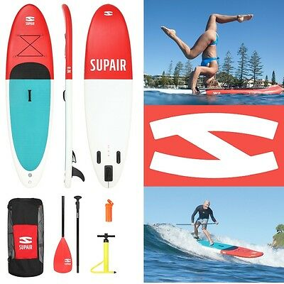 SUPAIR - Inflatable SUP board 10' 215 Liters -max 245 lbs weight -30 PSI tested