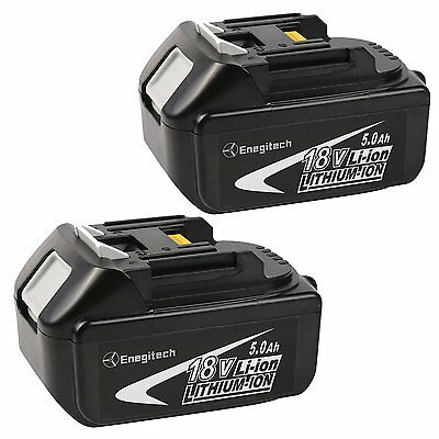 2 Pack 18V 5.0AH LXT Lithium-Ion Replacement Battery For Makita BL1850 BL1840