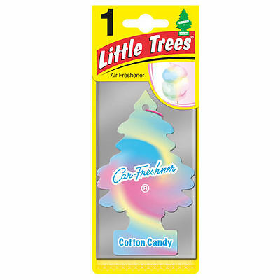 Magic Tree Little Trees Car Home Air Freshener Scent - COTTON CANDY New x