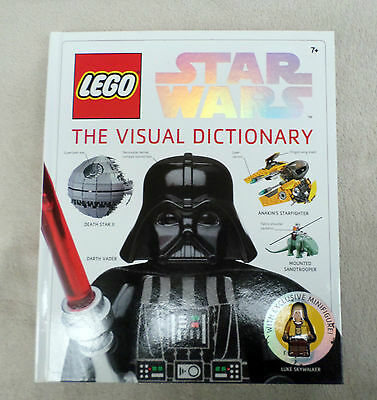 Lego Star Wars - The Visual Dictionnary (brand new & complete with minifig)