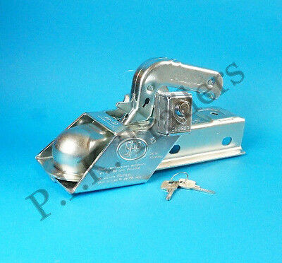 FREE P&P* Security Coupling Hitch Lock for Trailer Caravan    #ZZ02  #TR