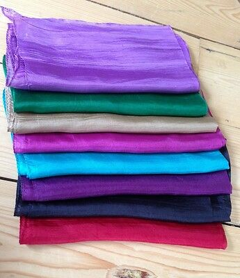 TAROT/RUNE READING CLOTH, 100% SILK,  Metaphysical/New Age/Wiccan