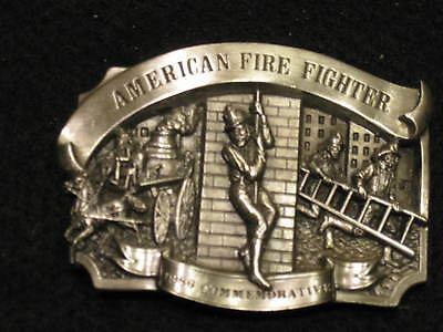 Firemans/ Ladies Belt Buckles (Pewter) (reduced)Beautiful See Photos Lim.Edition