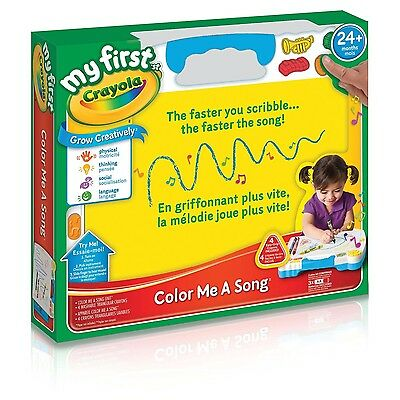 Crayola - My First Color Me A Song