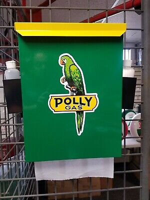 Polly Gas 1950S Gas Oil Station Towel Box Dispenser New
