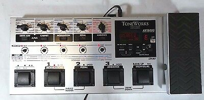 Korg ToneWorks AX1500G Modeling Signal Processor Electric Guitar Effects