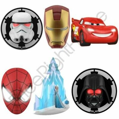 Personnage 3D Lampes Murales Marvel Star Wars Disney