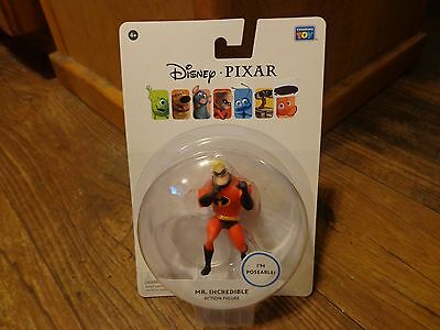 "Thinkway Toys--Disney / Pixar--Mr. Incredible Figure (New) 3"" Tall"