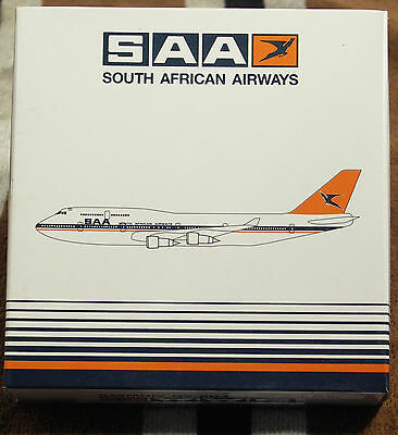 Model – Herpa 1:500 - Ref.No. HER500685 Boeing 747-400 South African Airways