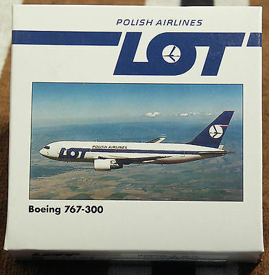 Model – Herpa 1:500 - Ref.No. HER502788 Boeing 767-300 Polish Airlines