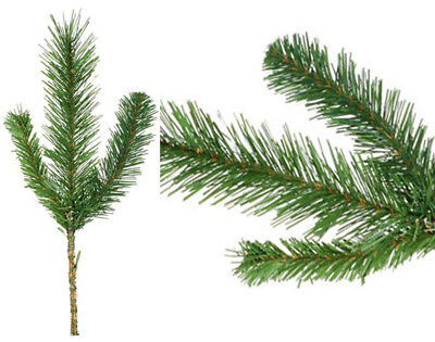 Evergreen Artificial Pine Spray for Christmas Crafts - Small