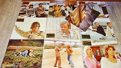 belmondo L' ANIMAL r welch jeu 19 photos cinema LUXE argentique lobby cards 1977