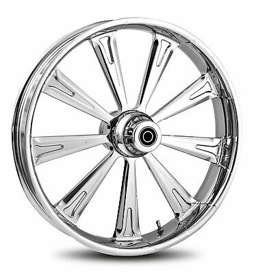 """RC Components Chrome Raider 21"""" Front Wheel & Tire Harley 00-07 FLH/T"""