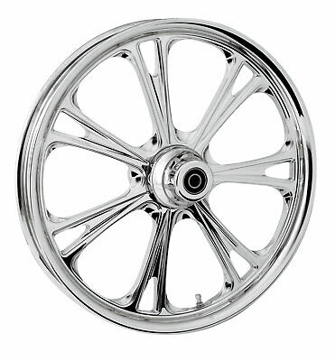 """RC Components Chrome Epic 21"""" Front Wheel & Tire Harley 07-16 FL Softail"""