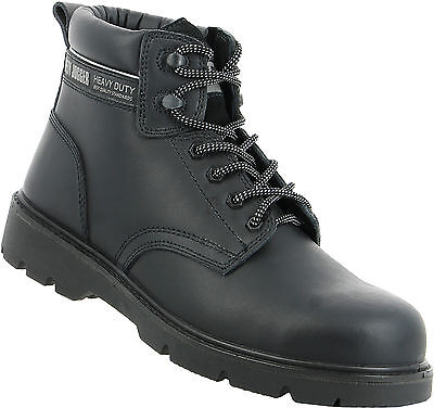 Men Work Boot Safety Jogger HI Top X1100N Black Steel Toe 100% Authentic B. New