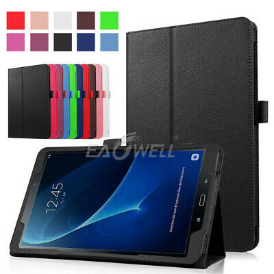 For Samsung Galaxy Tab A S2 E Tab 4 360° Rotating Folio Leather Stand Case Cover