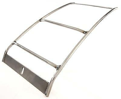 Rear Luggage Rack Carrier in Chrome fits VESPA 125 TS