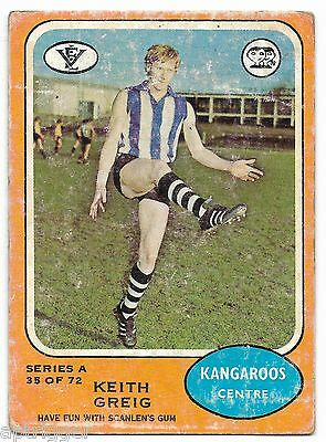 1973 A Scanlens (35) Keith GREIG North Melbourne #