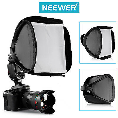 Neewer 23x23cm Softbox Mini Diffusore per Flash Nikon SB910 SB900 SB800 ecc.