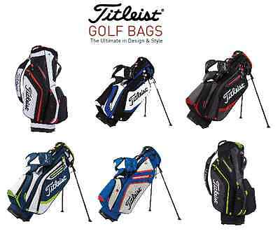 NEW 2016 Titleist Golf Bags New In Box! - Choose Model & Color...
