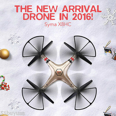 Syma X8HC-1 RC Quadcopter Done 2.4G 4CH 6Axis Gyro with 2.0MP HD Camera Aircraft