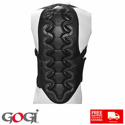 New Body Armour Safety Vest Backbone Protector Extreme Sports Gear Protection