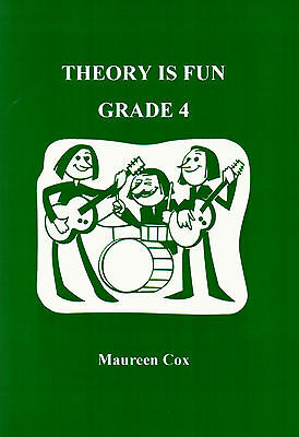 THEORY IS FUN GRADE 4 Learn How To Read Music Easy Simple Book - NEW